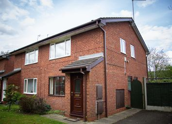 Thumbnail 1 bed flat to rent in Hawksbury Close, Redditch
