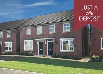 """Thumbnail 3 bedroom semi-detached house for sale in """"Archford"""" at Park View, Moulton, Northampton"""