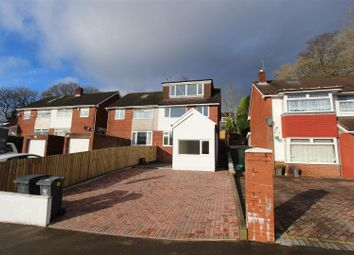 Thumbnail 5 bed semi-detached house for sale in Woolaston Avenue, Cyncoed, Cardiff