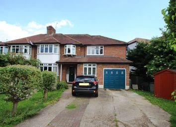 Thumbnail 5 bed semi-detached house for sale in Dunstall Way, West Molesey