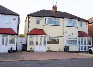 Thumbnail 2 bed semi-detached house for sale in Lower White Road, Birmingham