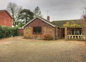 Thumbnail 3 bed detached bungalow for sale in Fifers Lane, Norwich