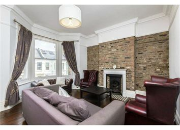 Thumbnail 3 bed flat to rent in Leander Road, London