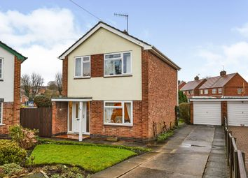 Thumbnail 3 bed detached house for sale in Farm Close, Belper