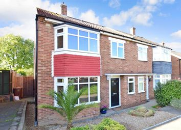 Thumbnail 3 bed semi-detached house for sale in St. Williams Way, Rochester, Kent
