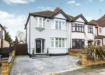 Thumbnail 3 bed semi-detached house for sale in Hornchurch, Esssx, .