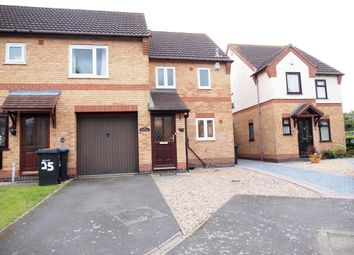 Thumbnail 2 bed town house to rent in Forge Close, Fleckkney, Leicestershire