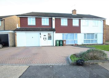Thumbnail 5 bed terraced house for sale in Anderson Drive, Ashford, Surrey