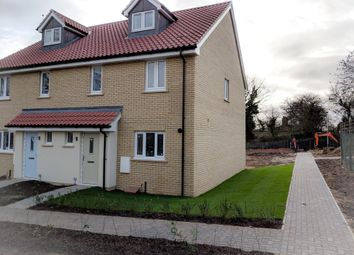 Thumbnail 4 bed semi-detached house for sale in Carr Avenue, Leiston, Suffolk