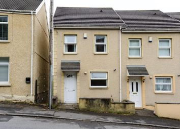 Thumbnail 3 bed town house for sale in Trewyddfa Road, Plasmarl, Swansea