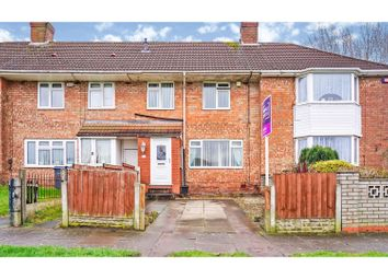 Thumbnail 3 bed terraced house for sale in Sheddington Road, Birmingham