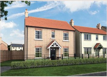 Thumbnail 3 bedroom detached house for sale in The Grange, Off Heath Road, Scothern, Lincolnshire