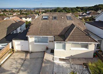 Thumbnail 4 bed detached bungalow for sale in Hutton Road, Preston, Paignton, Devon