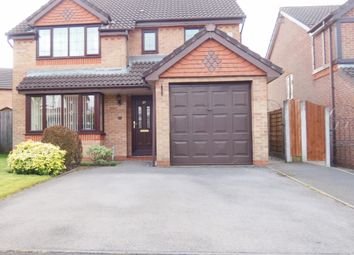 Thumbnail 4 bed detached house for sale in Kingsbridge Drive, Dukinfield
