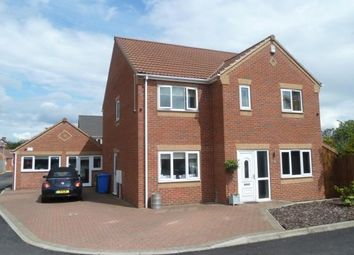 Thumbnail 4 bed detached house for sale in Jadella Close, Mansfield