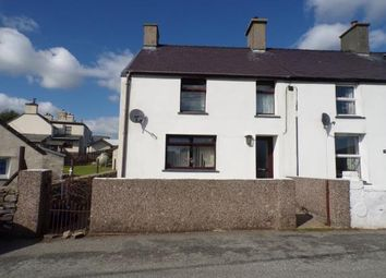 Thumbnail 3 bed end terrace house for sale in Uwch Llifon Terrace, Upper Llandwrog, Caernarfon