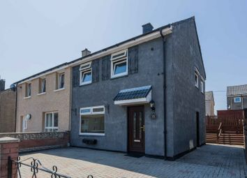 Thumbnail 2 bed semi-detached house for sale in Castlehill Road, Dumbarton, West Dunbartonshire