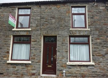 Thumbnail 4 bed terraced house for sale in Pleasant View, Pentre