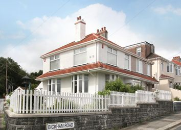 Thumbnail 3 bedroom semi-detached house for sale in Bickham Road, Plymouth