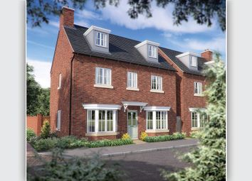 "Thumbnail 4 bed detached house for sale in ""The Jack"" at Needlepin Way, Buckingham"