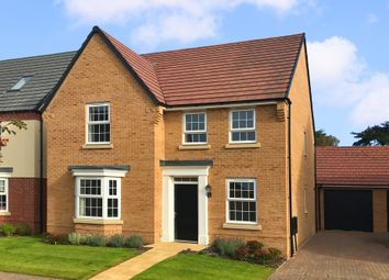 "Thumbnail 4 bed detached house for sale in ""Holden"" at Park View, Moulton, Northampton"