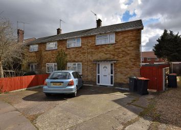 Thumbnail 3 bed semi-detached house to rent in Morcom Road, Dunstable