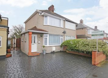 Thumbnail 2 bed semi-detached house for sale in Merlin Road, Welling