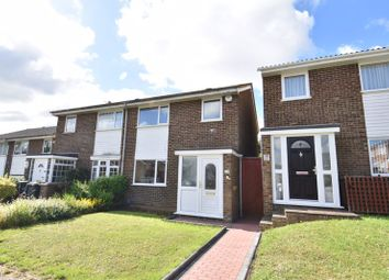 Thumbnail 3 bed semi-detached house to rent in Brill Close, Luton
