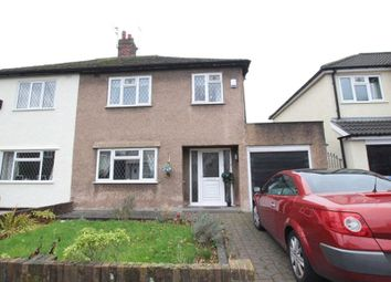 Thumbnail 3 bed semi-detached house for sale in Court Hey Road, Bowring Park, Liverpool