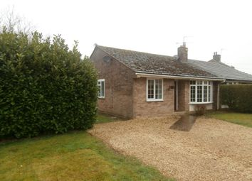 Thumbnail 4 bed bungalow to rent in Longworth, Oxfordshire