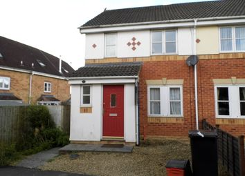 Thumbnail 3 bedroom town house to rent in Emerson Close, Abbey Meads, Swindon. Wiltshire