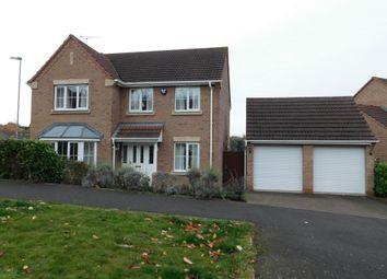 Thumbnail 4 bed detached house for sale in Betony Road, Brizlincote