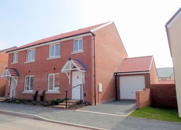 Thumbnail 3 bedroom semi-detached house to rent in Shareford Way, Cranbrook, Exeter