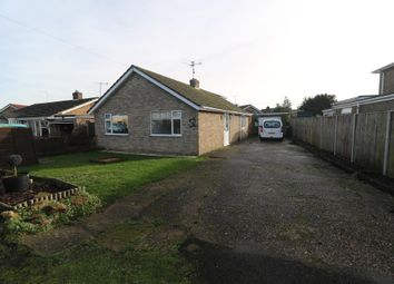 Thumbnail 3 bed detached bungalow for sale in Small Holdings Road, Clenchwarton, King's Lynn