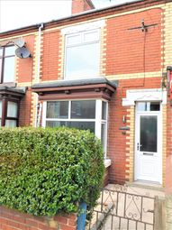 Thumbnail 3 bed terraced house to rent in Moss Road, Askern
