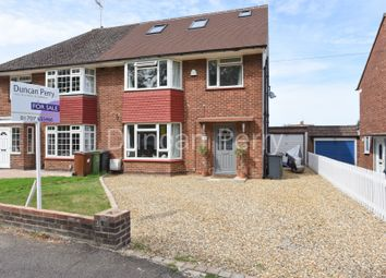 Thumbnail 4 bed semi-detached house for sale in Santers Lane, Potters Bar