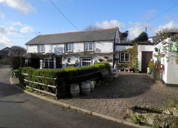 Thumbnail Pub/bar for sale in The Horseshoe Inn, Tresparrett, Tresparrett Camelford, Cornwall