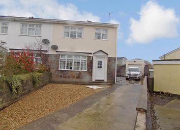 Thumbnail 3 bedroom semi-detached house for sale in Eleanor Close, Pencoed, Bridgend.