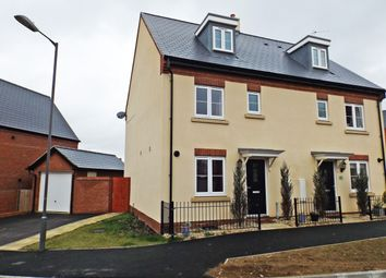 Thumbnail 3 bed semi-detached house for sale in Threads Lane, Buckingham