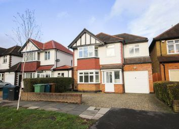 Thumbnail 4 bed detached house to rent in Sylvia Avenue, Hatch End, Pinner