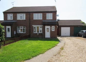 Thumbnail 3 bed semi-detached house to rent in Corden Close, Skegness