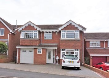 Thumbnail 5 bed detached house for sale in Shire Ridge, Walsall