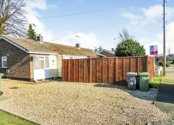 Thumbnail 3 bed semi-detached bungalow for sale in Castle Close, Weeting, Brandon