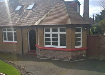 Thumbnail 3 bedroom semi-detached bungalow to rent in Hawkcraig Road, Aberdour, Burntisland