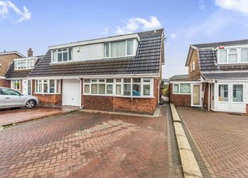 Thumbnail 3 bed semi-detached house for sale in Comberford Drive, Wednesbury