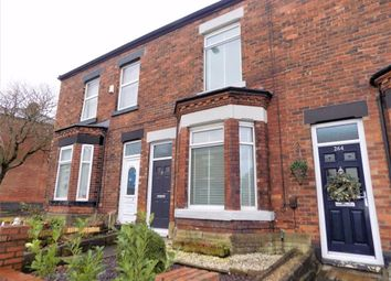 Thumbnail 2 bed terraced house for sale in Hyde Road, Woodley, Stockport