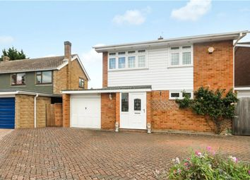 Thumbnail 3 bed detached house for sale in Chertsey, Surrey