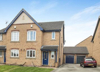 Thumbnail 3 bed semi-detached house for sale in Millers Croft, Batley, West Yorkshire