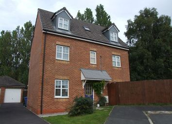 Thumbnail 4 bed detached house for sale in Folly Wood Drive, Chorley