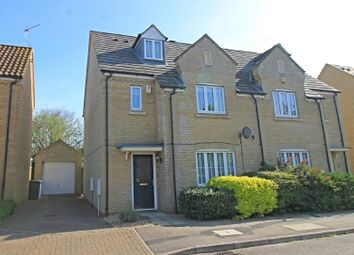 Thumbnail 4 bed semi-detached house for sale in Roman Way, Godmanchester
